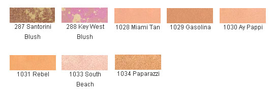 Emani Pressed Blush Chart