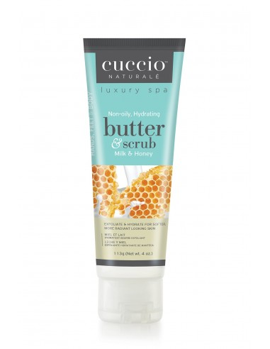 Cuccio Naturalé Hydrating Butter Scrub - Milk & Honey