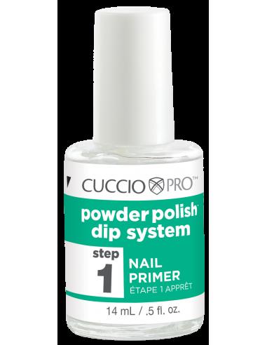 Cuccio Pro Powder Polish - Nail Primer - Step 1
