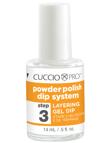 Cuccio Pro Powder Polish - Layering Gel Dip - Step 3