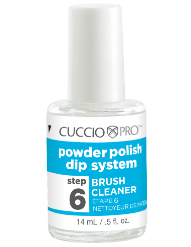 Cuccio Pro Powder Polish - Brush Cleaner - Step 6