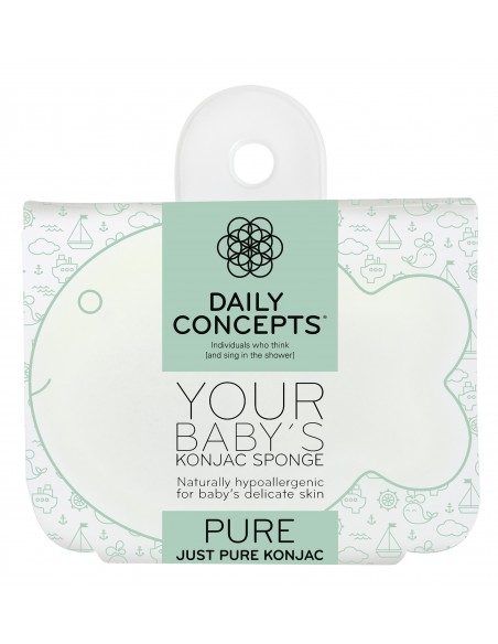 DAILY CONCEPTS YOUR BABY'S KONJAC SPONGE - PURE