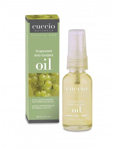 Oxidationshemmendes Traubenkernöl für Hände und Füsse