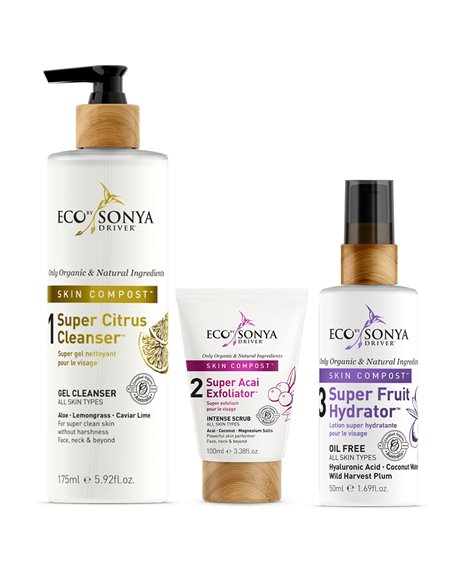 Eco by Sonya Driver Skin Compost 3 Step Skicare System-Exfoliator