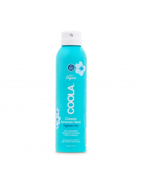 Coola Classic Body Organic Sunscreen Spray SPF50 - Unscented 177ml