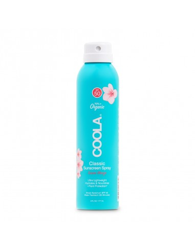 Coola Classic Body Organic Sunscreen Spray SPF50 - Guava Mango 177ml