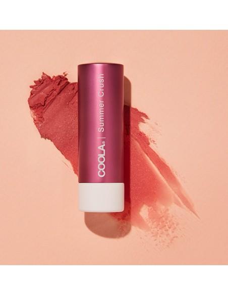 Coola Mineral Liplux Organic Tinted Lip Balm Sunscreen SPF30 - Summer Crush