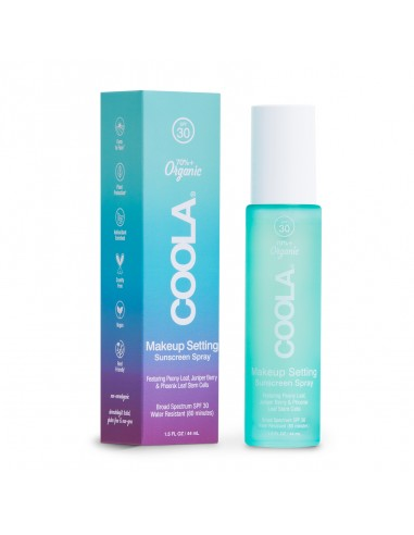 Coola Makeup Setting Spray Organic Sunscreen SPF30