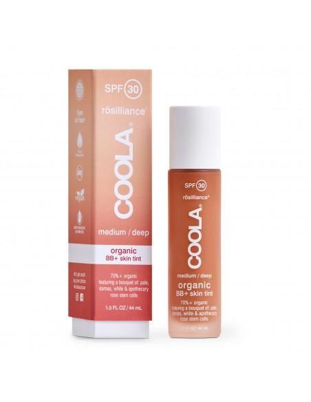 Coola Rosilliance Mineral BB+ Cream Tinted Organic Sunscreen SPF 30 - Medium/Deep