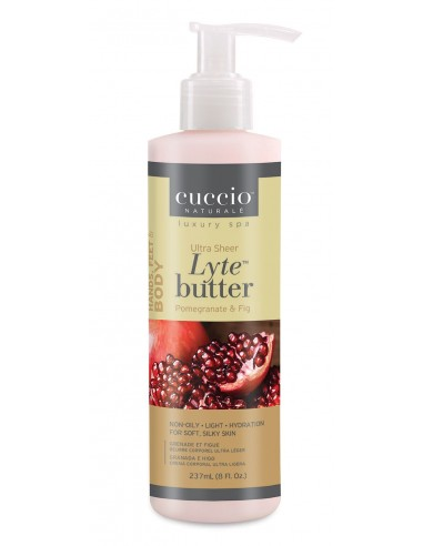 Cuccio Naturalé Lyte Butter Lotion Pomegranate & Fig-237ml