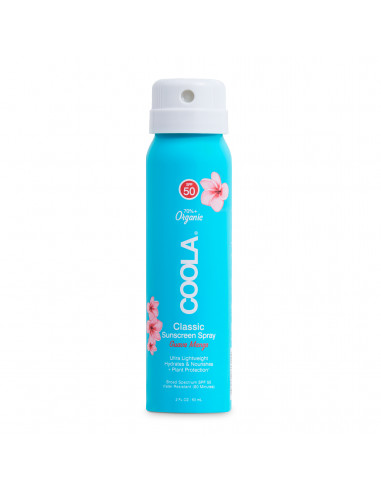 Coola Classic Body Organic Sunscreen Spray SPF50 - Guava Mango Travel Size