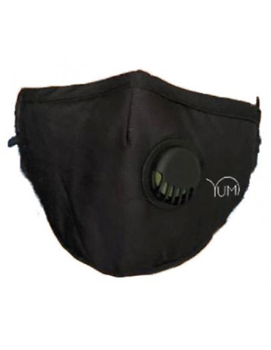 Yumi Black Washable Tissue Mask + 1 Active Carbon Filter