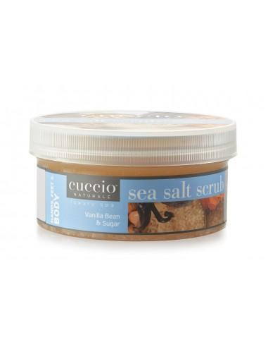 Cuccio Naturalé Sea Salt Scrub for Body, Hands & Feet - Vanilla Bean & Sugar