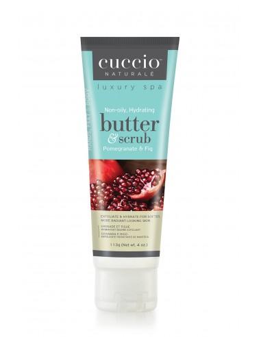 Cuccio Naturalé Beurre Hydratant et Gommant - Pomegranate & Fig