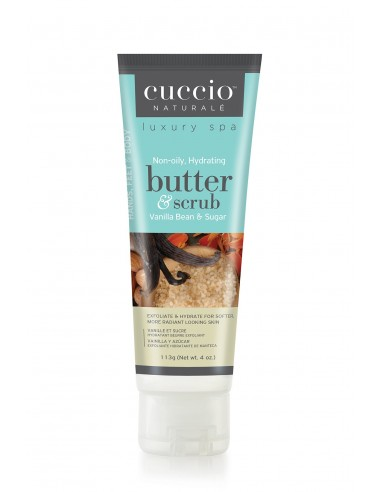 Cuccio Naturalé Burro Idratante ed Esfoliante - Vanilla Bean & Sugar