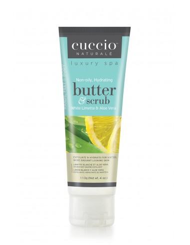 Cuccio Naturalé Hydrating Butter Scrub - White Limetta & Aloe Vera