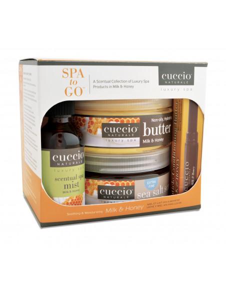 Cuccio Naturalé Spa To Go - Milk & Honey