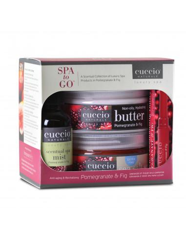 Cuccio Naturalé Spa To Go - Pomegranate & Fig