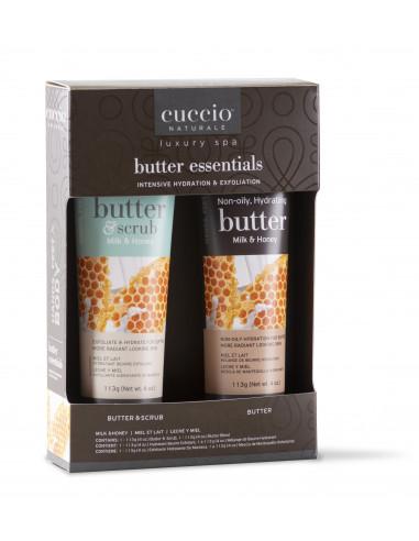 Cuccio Naturalé Butter Essentials Gift Box - Milk & Honey