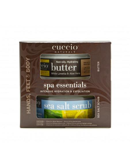 Cuccio Naturalé Spa Essentials Kit - White Limetta & Aloe Vera