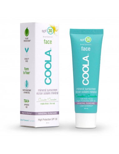 Coola Mineral Face SPF30 Cucumber Matte Finish