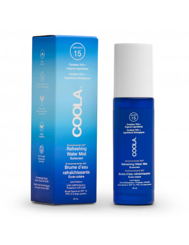 Coola Full Spectrum 360° Refreshing Water Mist Organic Face Sunscreen SPF 15